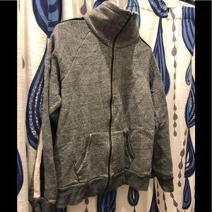 J crew track jacket sweatshirt - size Large